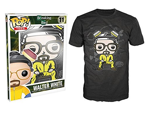 Funko T-SHIRT-215 - Pop Tees, Breaking Bad - Walter, Größe XXL (Breaking Bad Figur Kostüm)