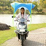 #6: fashionstudio Fashion Sun Canopy Wind Proof and Water Resistance Umbrella Bike and Scooter (BU-32)