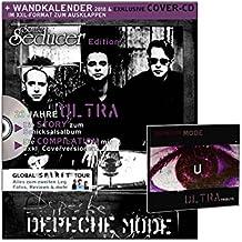 Sonic Seducer Edition Depeche Mode, limitiert auf 999 Exemplare - mit XXL-Wandkalender 2018 + exklusive Ultra Tribute CD + alle Infos zum Album Spirit und Teil 2 der Global Spirit Tour