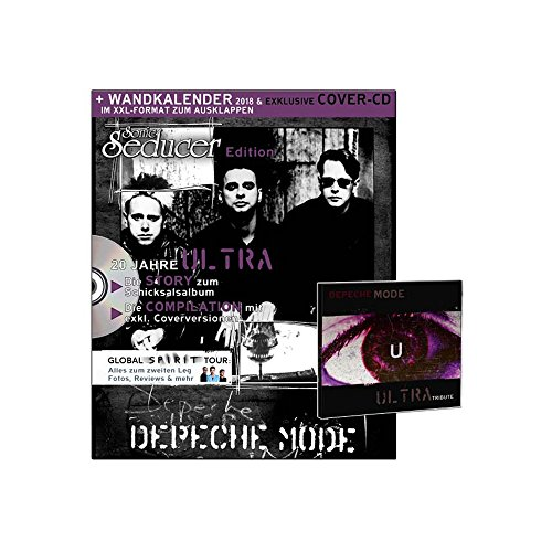 Depeche Mode Wandkalender im XXL-Format zum Ausklappen (999 Ex.) + Sonic Seducer Edition Depeche Mode + exklusive Ultra Tribute CD + alle Infos zum Album Spirit und Teil 2 der Global Spirit Tour por Sonic Seducer