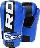 RDX Cuir De Maya Hide Vachette MMA Gants Sparring UFC Libre Entrainement Art Martiaux Sac De Frappe Kickboxing