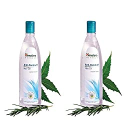 Himalaya Anti-Dandruff Hair Oil - 100ml (Pack of 2)