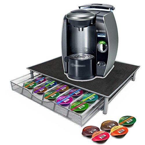 JJOnlineStore Kaffee-Pad-Organizer für 36Kaffeepads für Dolce Gusto, Nespresso, Tassimo