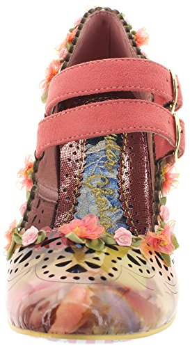 Irregular Choice, Scarpe col tacco donna Rosa (Pink)