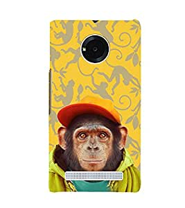 ifasho Designer Phone Back Case Cover YU Yunique ( Black And White Pattern Design )