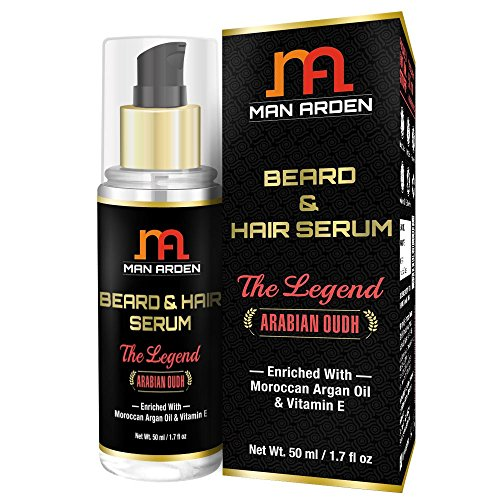 Man Arden Arabian Oudh Hair and Beard Serum - 50 ml (the Legend)