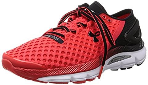 Under Armour Ua Speedform Gemini 2, Chaussures de Sport Homme, Rouge / Blanc / Noir, 44 EU