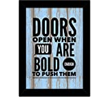 Best Frames With Quotes - Tied Ribbons Motivational Office Posters Review