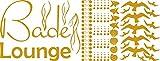 GRAZDesign 770169_57_820 Wandtattoo Badezimmer Bade Lounge Muscheln   maritimes Set Bad-Tattoo für Fliesen - Wände - Tür (149x57cm//820 mustard)