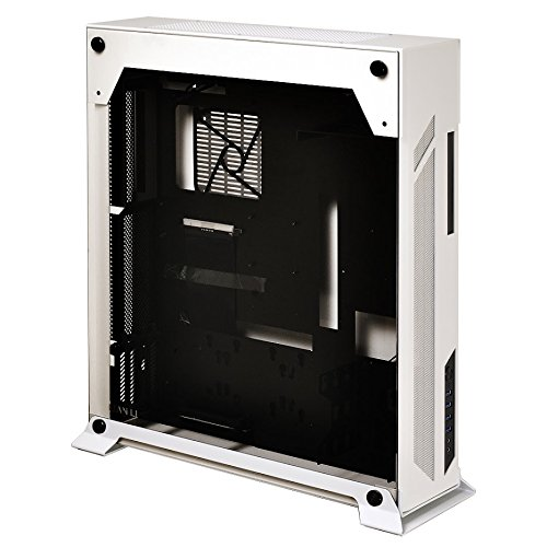 Lian Li PC-O7SW Midi-Tower Nero, Bianco vane portacomputer