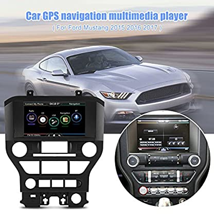 Auto-GPS-Spieler-8720P-Auto-GPS-Navigations-Multimedia-Player-fr-Mustang-2015-2017
