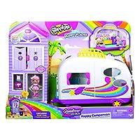 Shopkins HAR05000 Happy Places Rainbow Beach Camper Van Playset