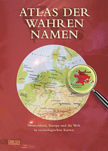 en: Deutschland, Europa und die Welt in etymologischen Karten (Name Ort Karten)