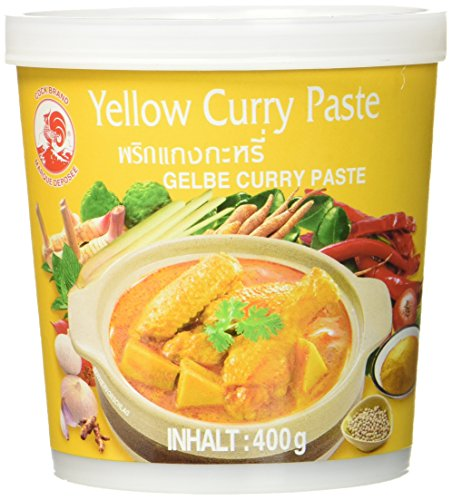 Cock Currypaste, gelb, 400 g