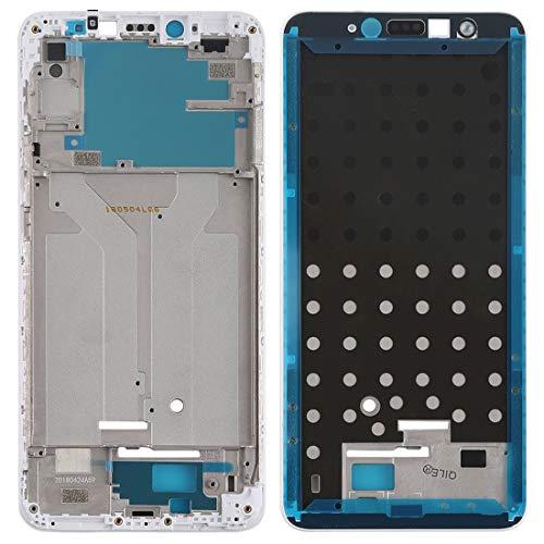 GUODONG Accesorios de reparación Marco de la Carcasa Frontal LCD Bisel para Xiaomi Redmi S2 (Negro) Piezas de Repuesto (Color : Blanco)
