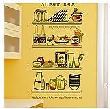 Küche Aufkleber Vinyl Diy Lebensmittel Wandtattoos Für Kinderzimmer Baby Schlafzimmer Glas Fenster Fliesen Kühlschrank Dekoration