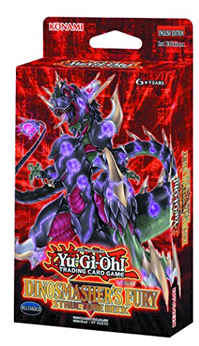 Yugioh! - Machina Reactor & Dinosmasher`s Fury - Structure Deck - Deutsch (Dinosmasher`s - Structure Yugioh Machina Deck