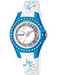 Calypso watches K5624/7–Armbanduhr Damen, Armband aus Kunststoff