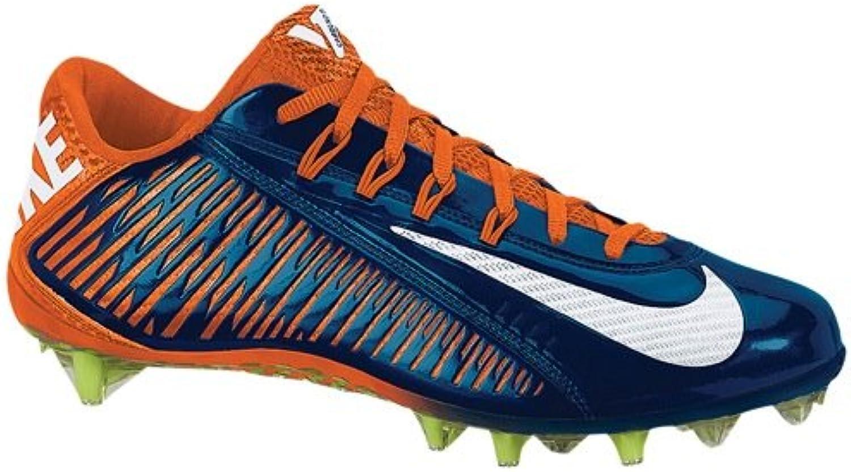 Nike Vapor Carbon Elite TD Mens Football Cleats 15 DM US  Blue/Orange/White