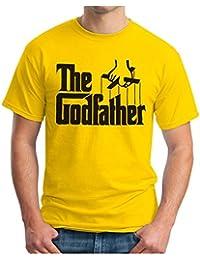 OM3 - THE GODFATHER - T-Shirt MAFIA Marlon Brando CHICAGO NEW YORK, S - 5XL
