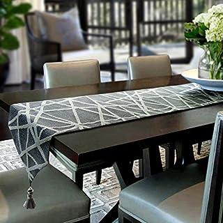 Artbisons Table Runner Grey Geometry 72x13