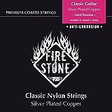 Fire & Stone 651890 Cordes pour Guitare Classique