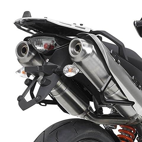 Givi Support Top Case Monokey Valise avec Plaque Aluminium KTM 990 SMT
