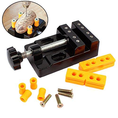 Dxlta Universal Mini Bohrmaschine Bank Schraubstock Clamp Aluminiumlegierung Nussbaum Nuss Clip Schmuck Zange Tischzange Carving Feste Werkzeuge - Carving Stein Maschine