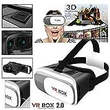 Impressive VR Box 2nd Generation Enhanced Version Virtual Augmented Reality Cardboard 3D Video Glasses Headset