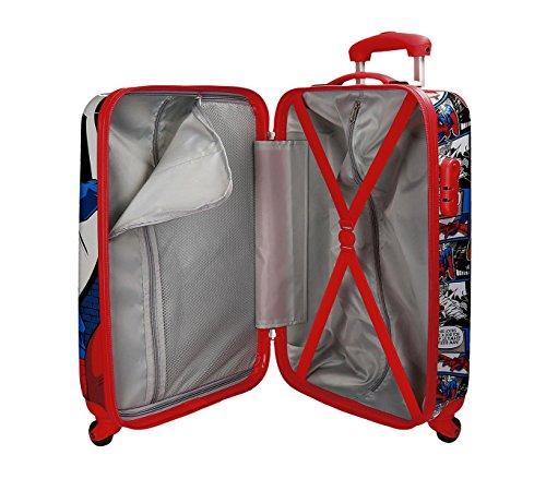 2161761 Maleta trolley rigida ABS equipaje de mano SPIDERMAN 55 x 33 x 20 cm