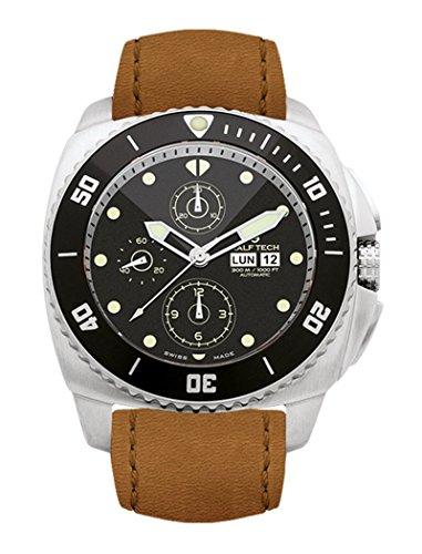 Ralf, STI, Chronograph-WRX-3002Taucher-Uhrenarmband, 300m, Limited Edition, hergestellt in der Schweiz,