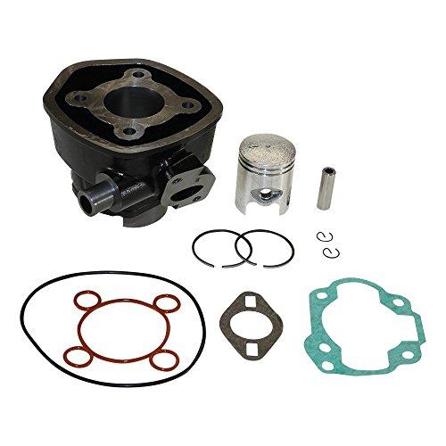 Zylinder Kit 50ccm LC wassergekühlt für Minarelli Motoren, Aerox, Nitro, SR50 für Aprilia SR 50 LC Netscaper Horizontaler Zyllinder 1997-1998