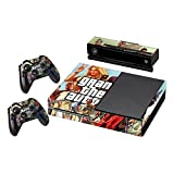 'Gta 5 Xbox One Skin Console Cover 2x Controller & Kinect Wrap