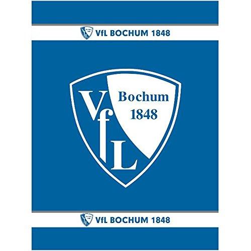 Vfl Bochum 1/053985 Veloursdecke Logo 150 x 200 cm