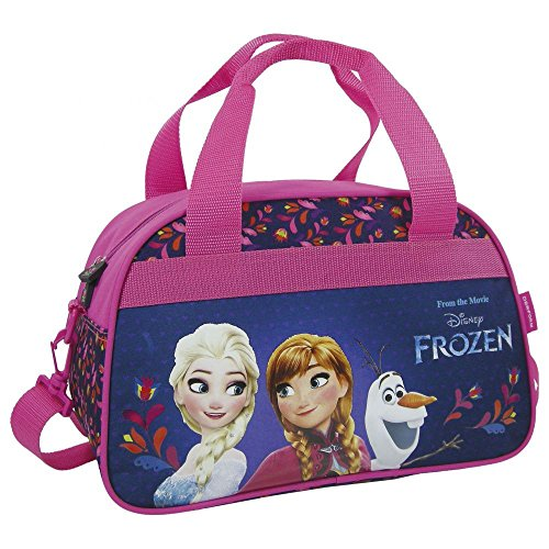 Disney Frozen - Die Eiskönigin - Schulsporttasche Sporttasche Schwimmtasche Freizeittasche Kindertasche (Tasche Anna)