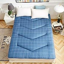 Tatami grueso colchón futón tatami alfombrilla pad plegable piel-amistoso varios tamaños cama colchón dormitorio