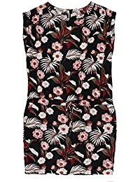 Maison Scotch Bandana Print Shift Dress