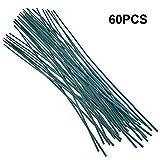 50 Stück Pflanzstützen grün Pflanzstäbe 60 cm ca. Ø 5