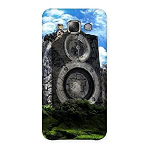 Premium Speaker Of Rocks Back Case Cover for Galaxy E7