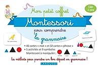 Mon petit coffret Montessori pour comprendre la grammaire par  Larousse