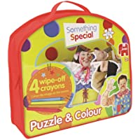 Something Special Double-Sided Puzzle and Colour Jigsaw Puzzle (24 Pieces)