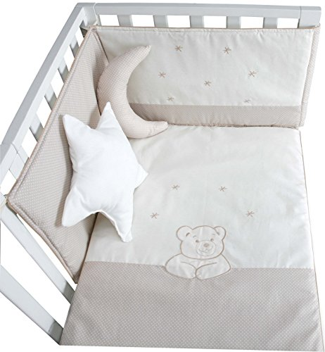 EDEREDON Y PROTECTOR CUNA ASTRA BEIGE