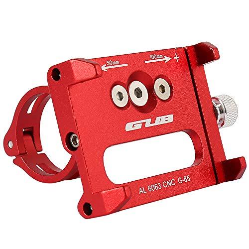 Enjoygoeu Antideslizante Soporte de Teléfono de Bicicleta Ajustable Bici Aleación de Aluminio...