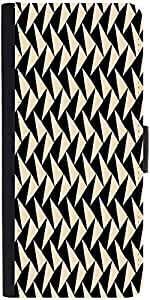 Snoogg Abstract Pattern Designer Protective Phone Flip Case Cover For Yu Yuphoria