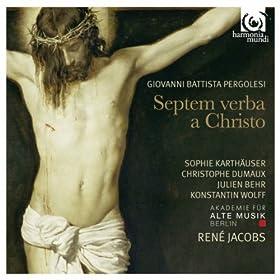 Septem verba a Christo in cruce moriente prolata: Verbum VII: Pater, in manus tuas commendo spiritum meum (Luke 23:44-46), Aria In tuum, Pater, gremium