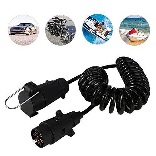 Professional 7 Pin Trailer Converter with Cable 3.5 Meters Trailer Connector Adapter Trailer Wiring Harness For Taillights