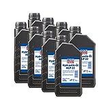 8x LIQUI MOLY 6954 Hydrauliköl HLP 22 1L