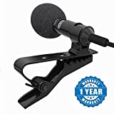 #5: Captcha Lavalier Noise Cancelling 3.5mm Clip On Mini Microphone For Android Devices (Multi-Color)