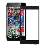 TJNBIAT Manutenzione Obiettivo dello Schermo Anteriore Vetro Esterno for Nokia Lumia 630 (Nero) MMTIUU (Color : Black)