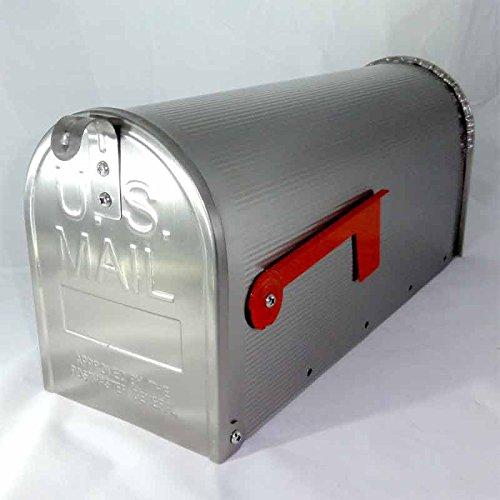 Boîte aux lettres américaine En acier inoxydable V2A qui ne rouille pas Accueille les journaux Instructions de montage (français non garanti)